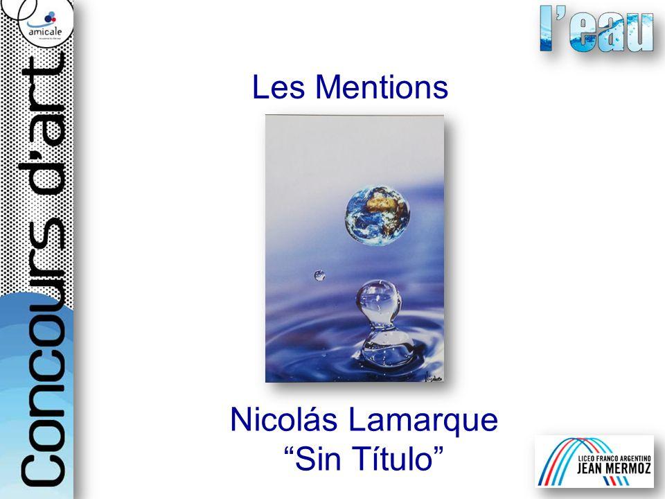 Les Mentions Nicolás Lamarque Sin Título