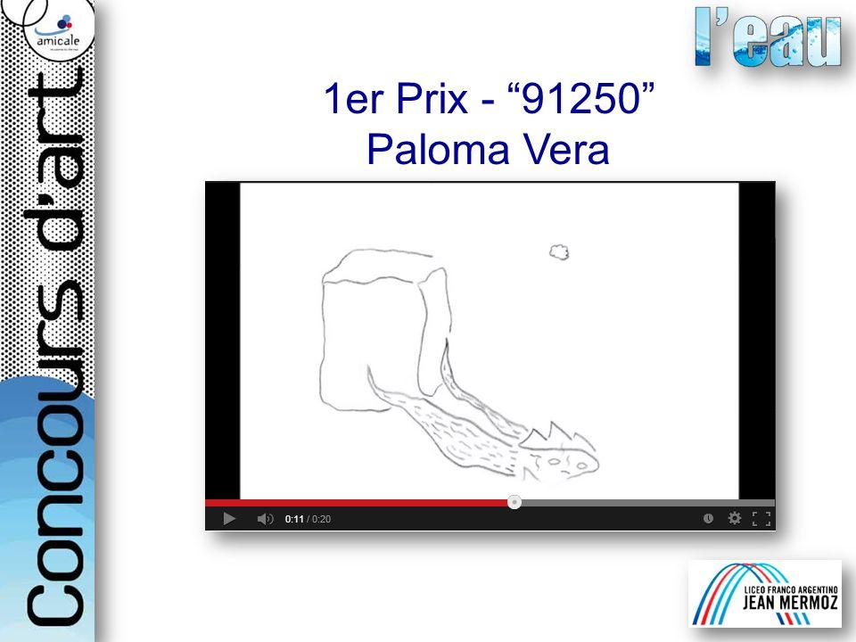 1er Prix - 91250 Paloma Vera