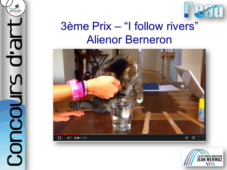 3ème Prix – I follow rivers