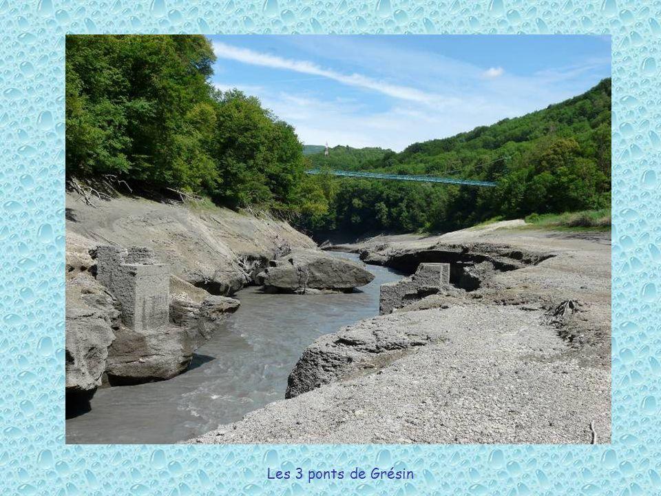 Les 3 ponts de Grésin