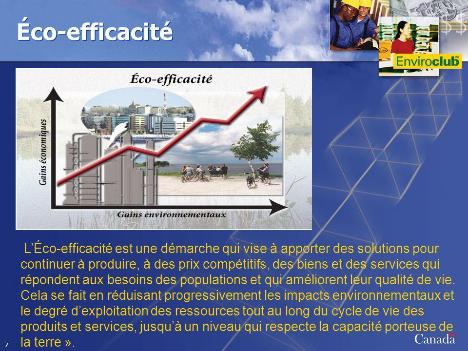 Éco-efficacité