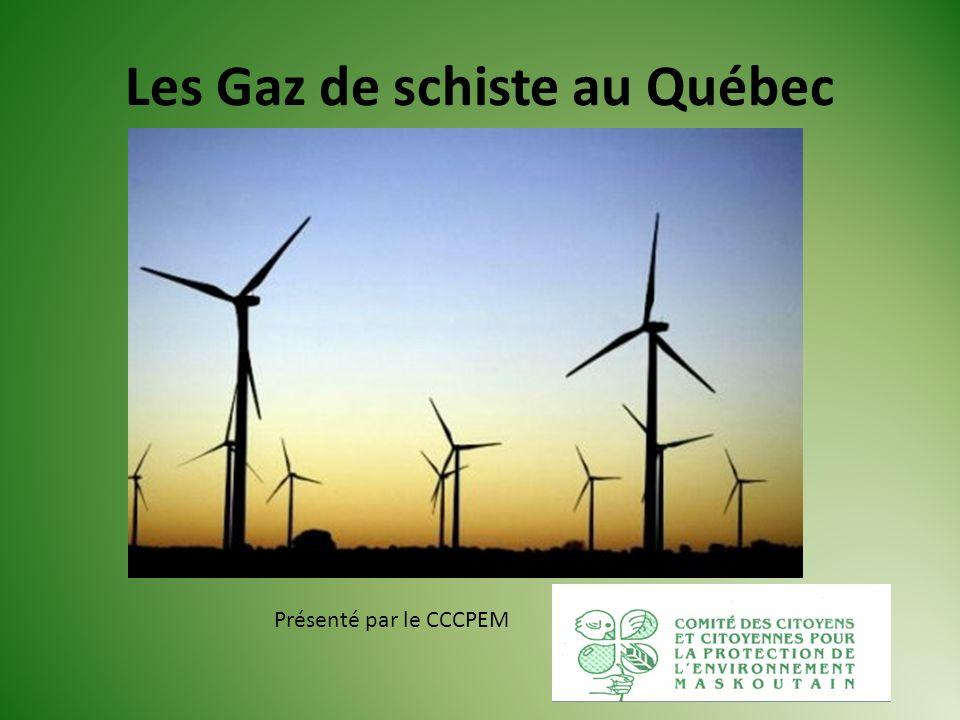 Les Gaz de schiste au Québec