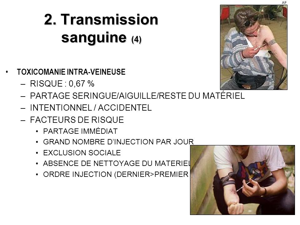 2. Transmission sanguine (4)