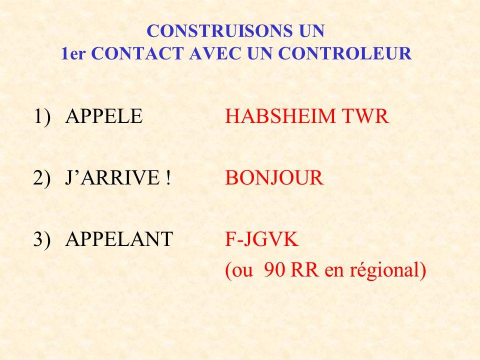 CONSTRUISONS UN 1er CONTACT AVEC UN CONTROLEUR