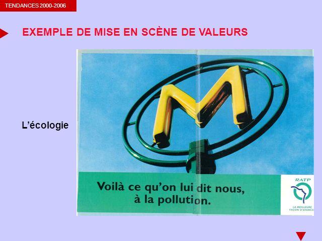 EXEMPLE DE MISE EN SCÈNE DE VALEURS