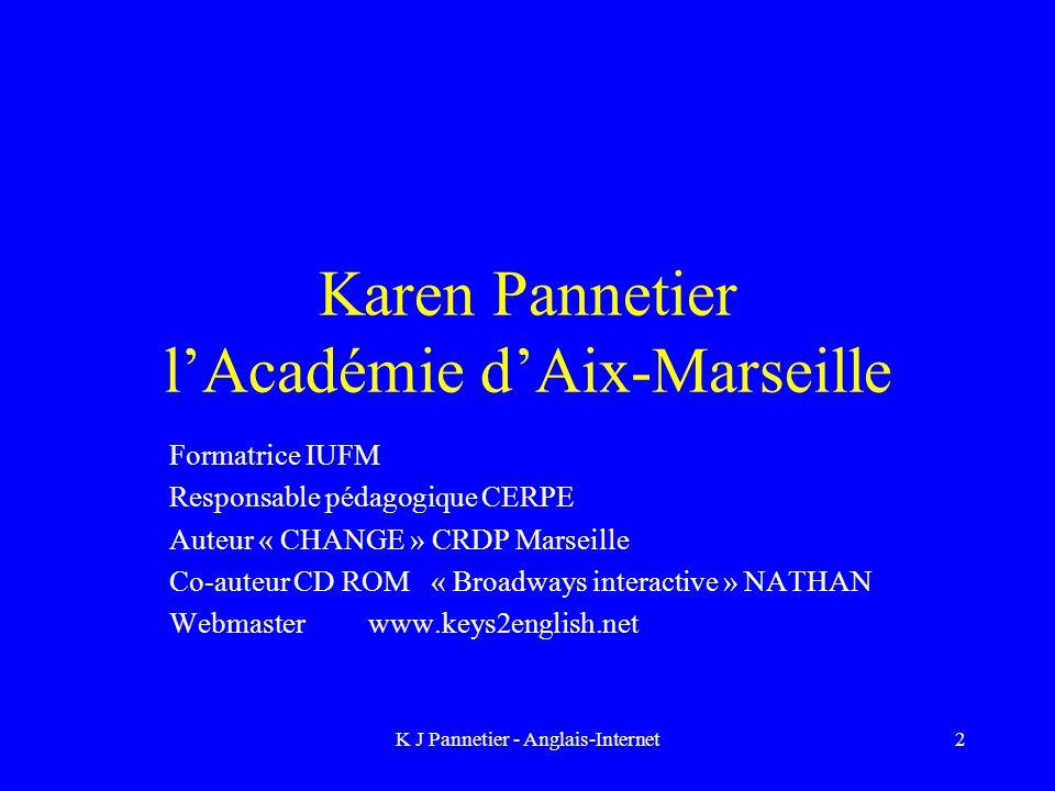 Karen Pannetier l'Académie d'Aix-Marseille
