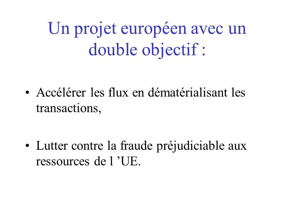 Un projet européen avec un double objectif :