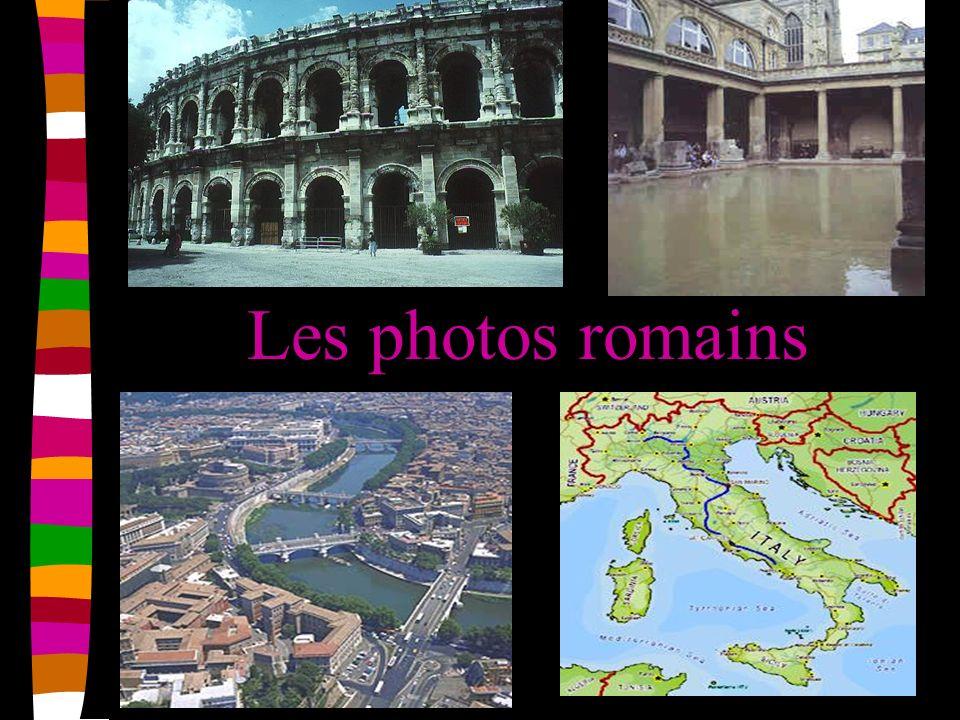 Les photos romains