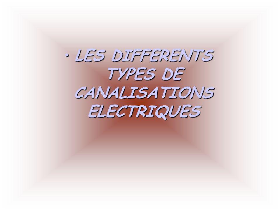 les differents types de canalisations electriques ppt t l charger. Black Bedroom Furniture Sets. Home Design Ideas