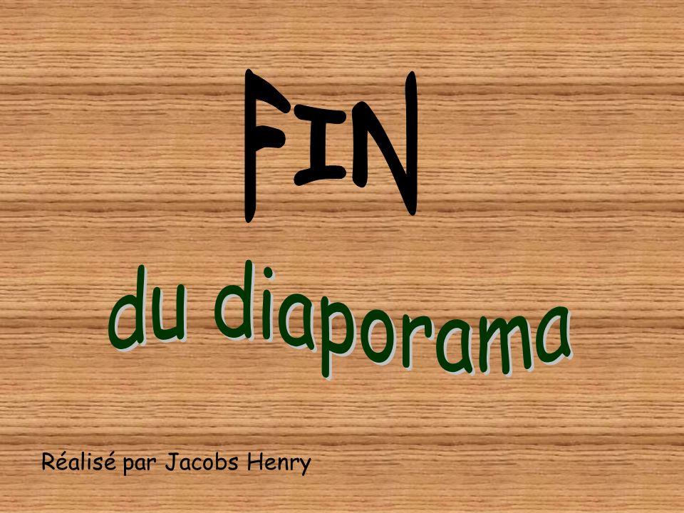 FIN du diaporama Réalisé par Jacobs Henry