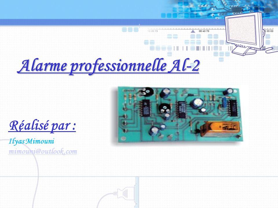 Alarme professionnelle Al-2