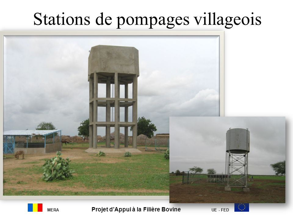 Stations de pompages villageois