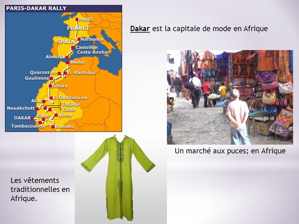 Un marché aux puces; en Afrique