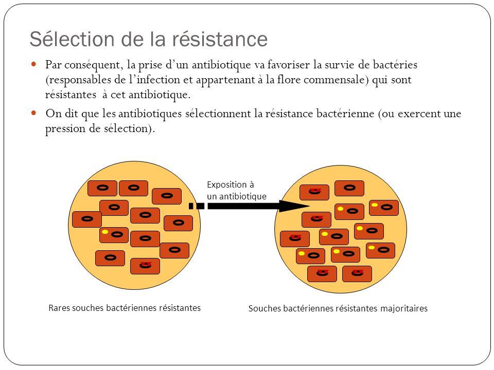 Sélection de la résistance