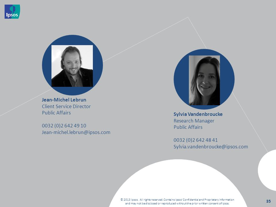 Client Service Director Public Affairs 0032 (0)2 642 49 10