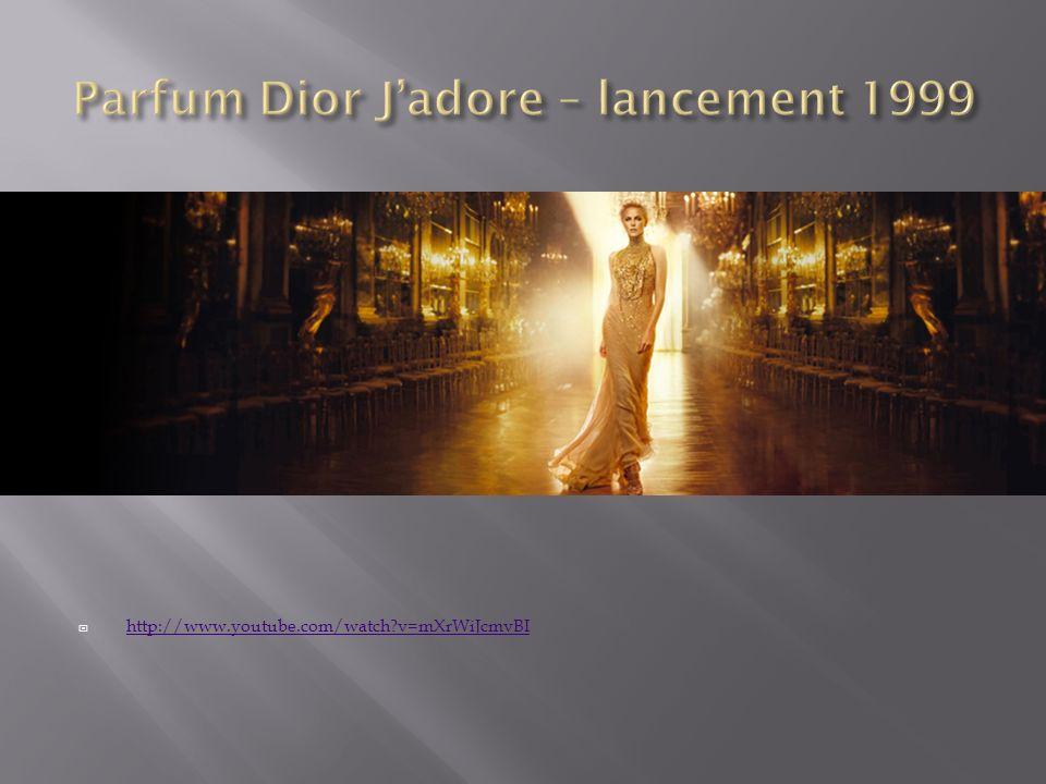 Parfum Dior J'adore – lancement 1999