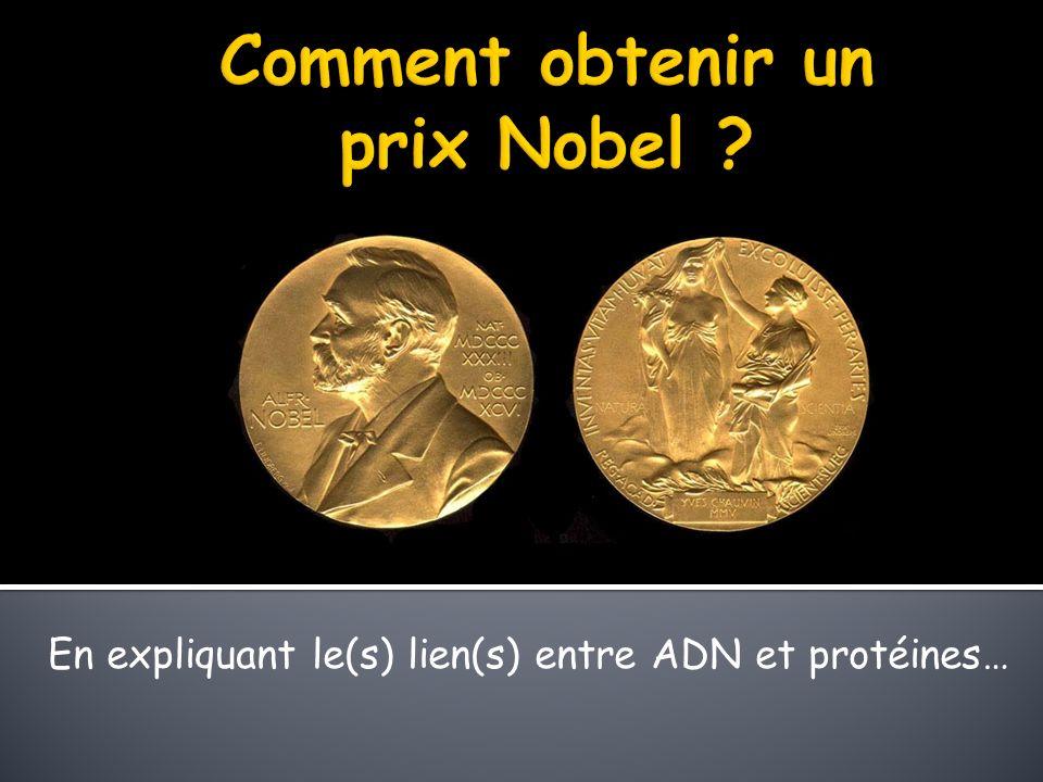 Comment obtenir un prix Nobel
