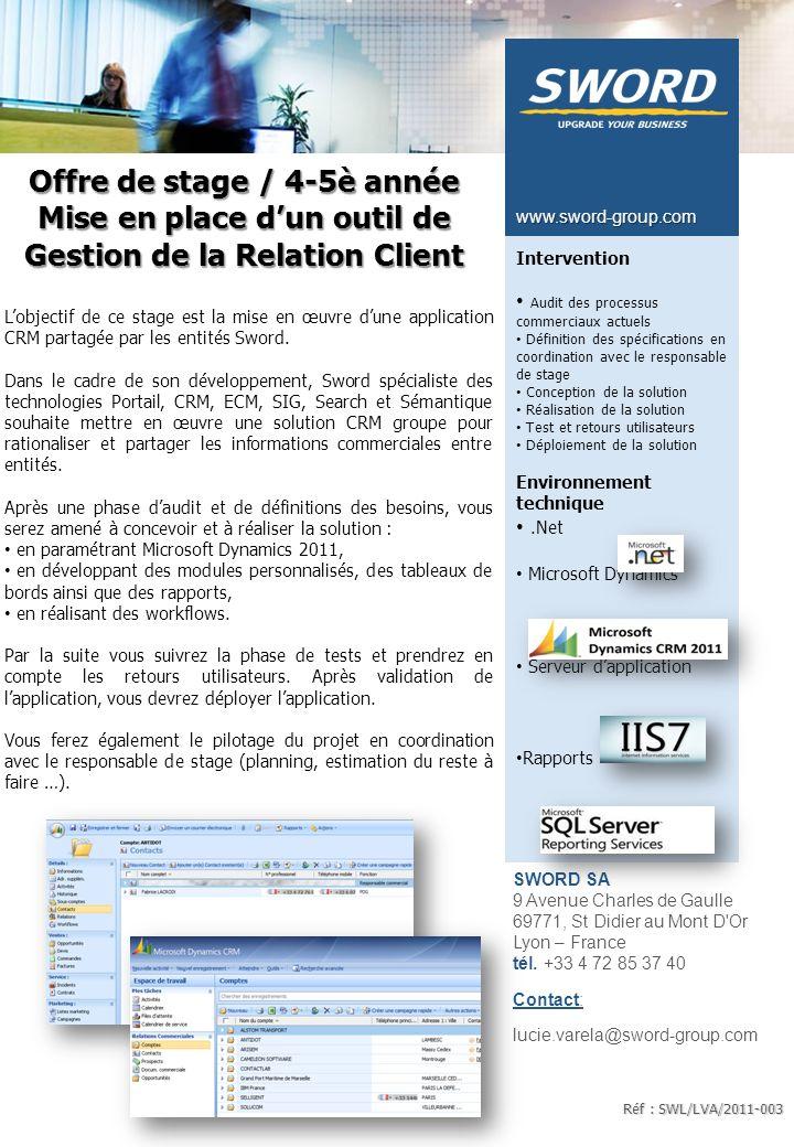 Système d'information Qualité VASCO