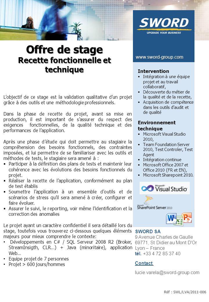 Offre de stage Intégration d'une application de Gestion Electronique de Documents avec le SI d'Entreprise.