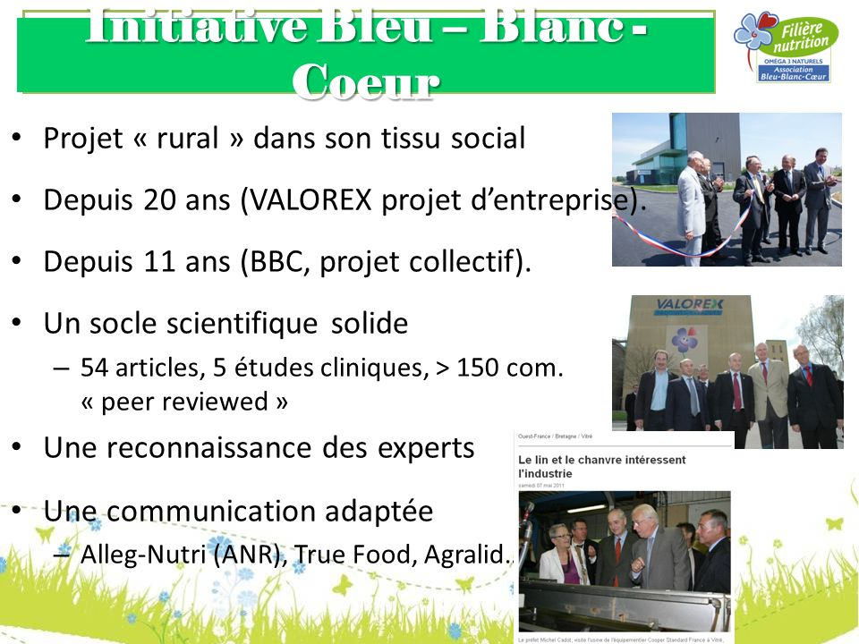 Initiative Bleu – Blanc - Coeur