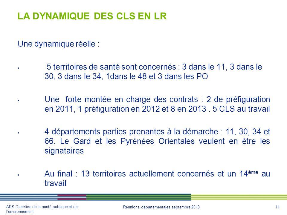 LA DYNAMIQUE DES CLS EN LR