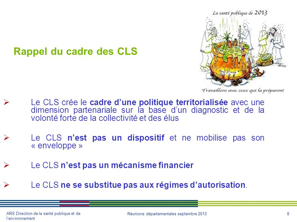Rappel du cadre des CLS