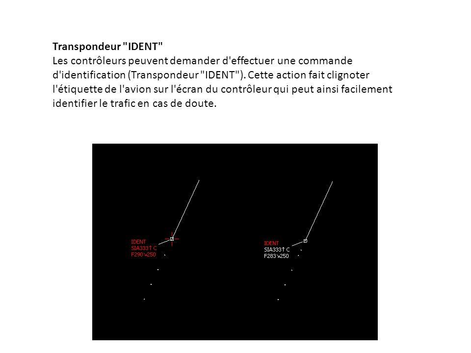 Copie d écran IvAc montrant un appareil effectuant une commande IDENT