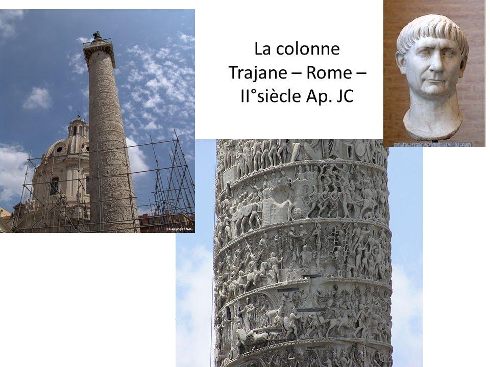 La colonne Trajane – Rome – II°siècle Ap. JC