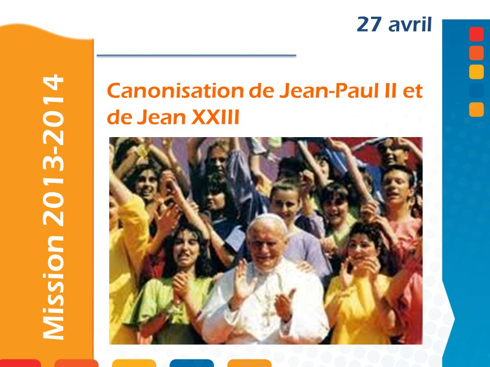 Canonisation de Jean-Paul II et de Jean XXIII