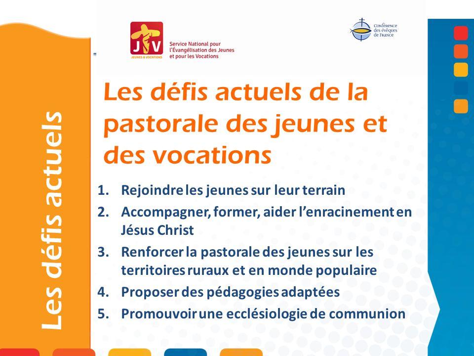 Les défis actuels de la pastorale des jeunes et des vocations