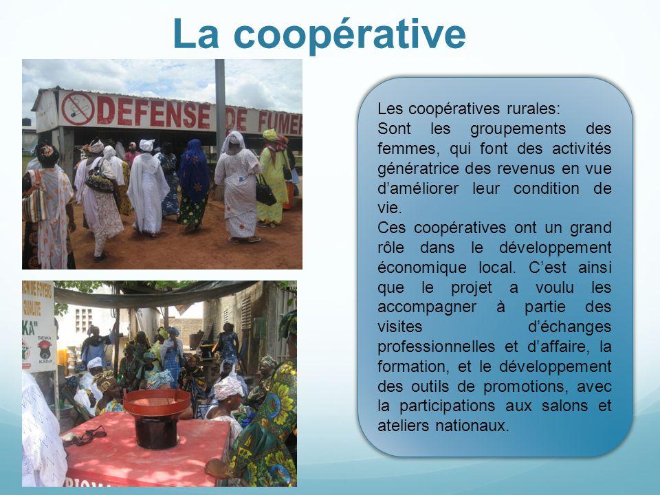 La coopérative Les coopératives rurales: