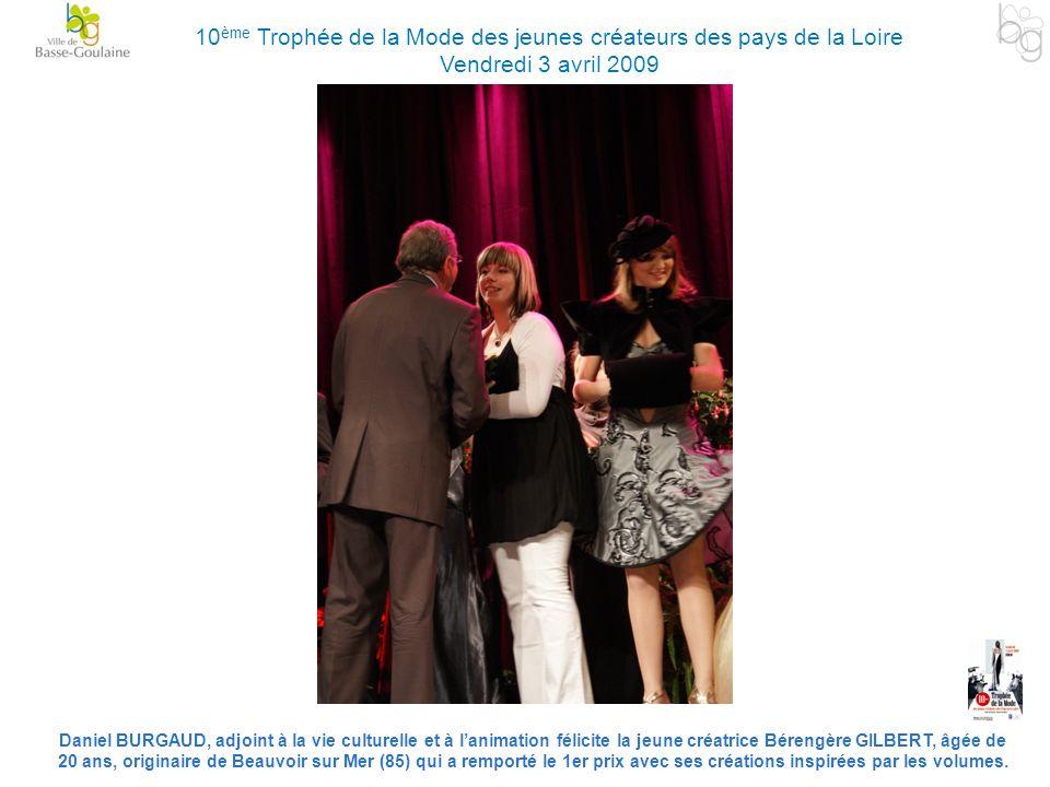10ème Trophée de la Mode des jeunes créateurs des pays de la Loire