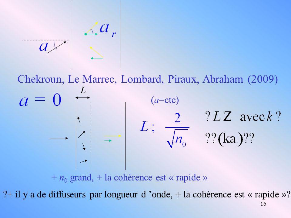 Chekroun, Le Marrec, Lombard, Piraux, Abraham (2009)
