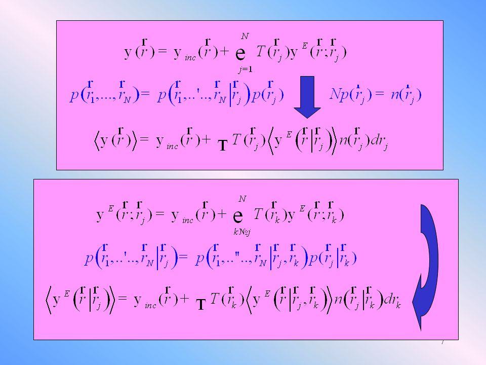 On moyenne séparément chacune des 2 équs de la diff xle