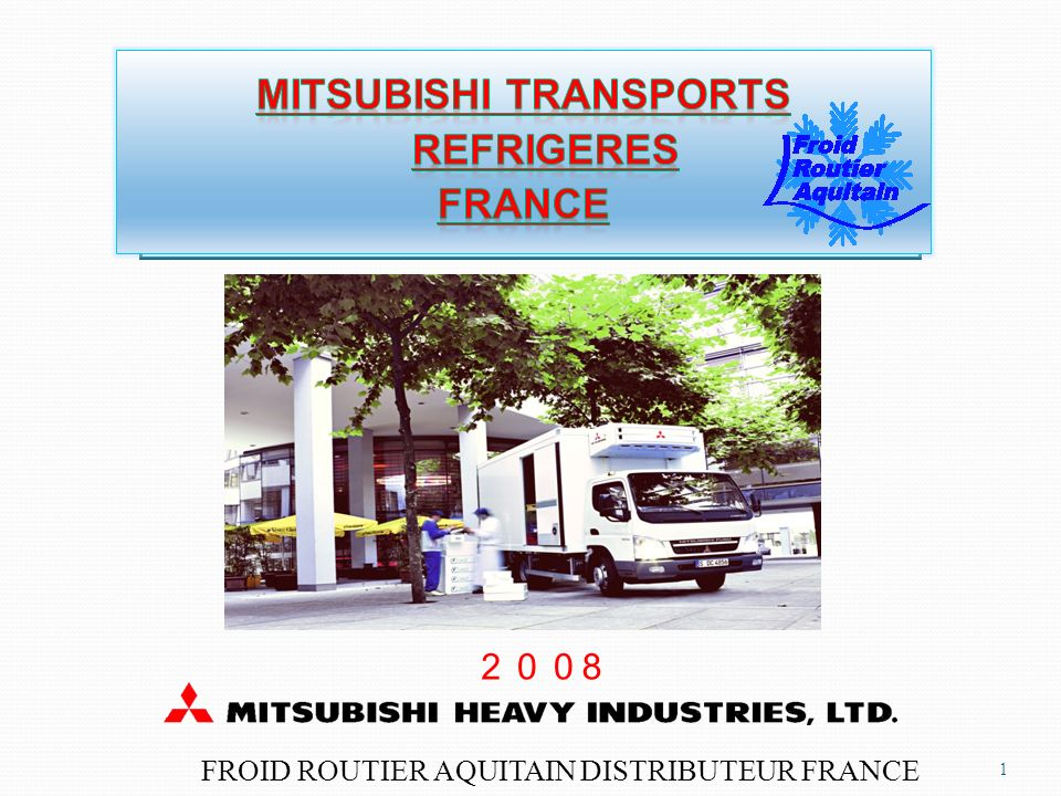 MITSUBISHI transports refrigeres