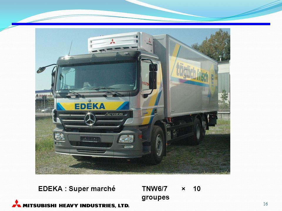 EDEKA : Super marché TNW6/7 × 10 groupes