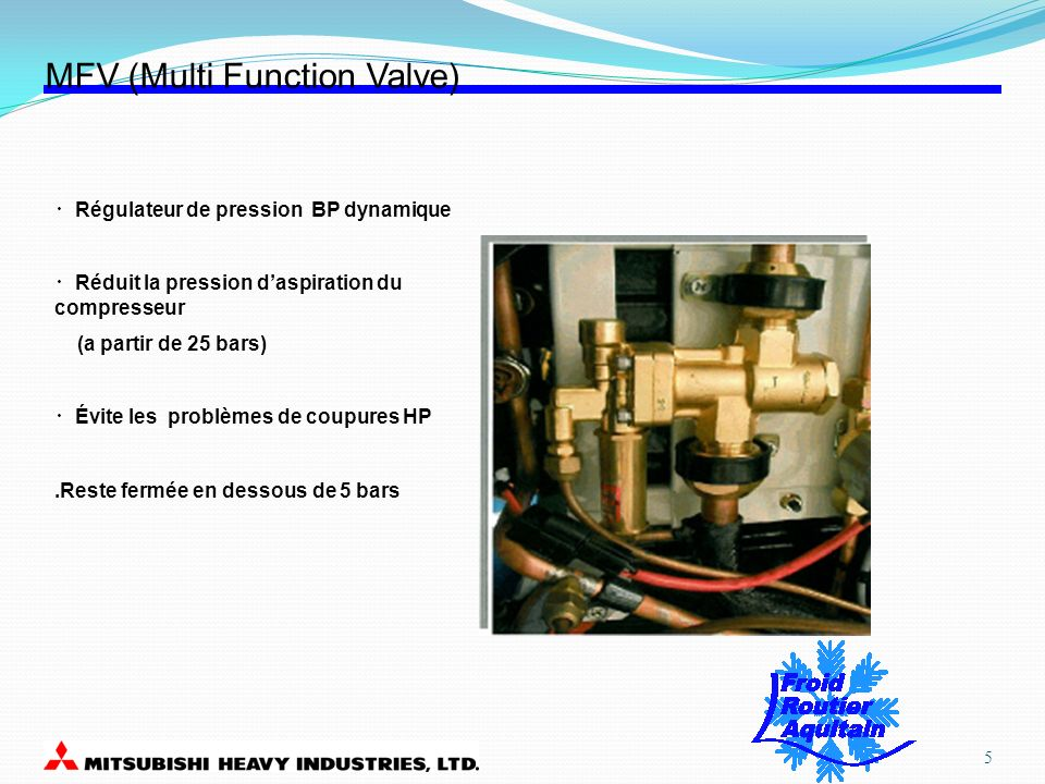 MFV (Multi Function Valve)