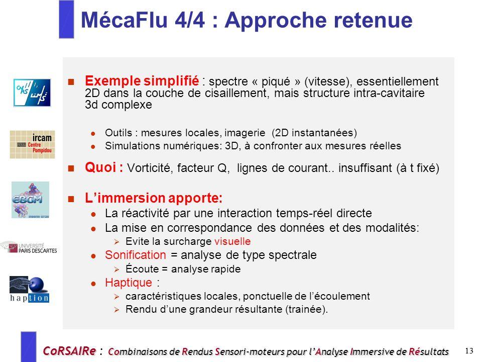 MécaFlu 4/4 : Approche retenue