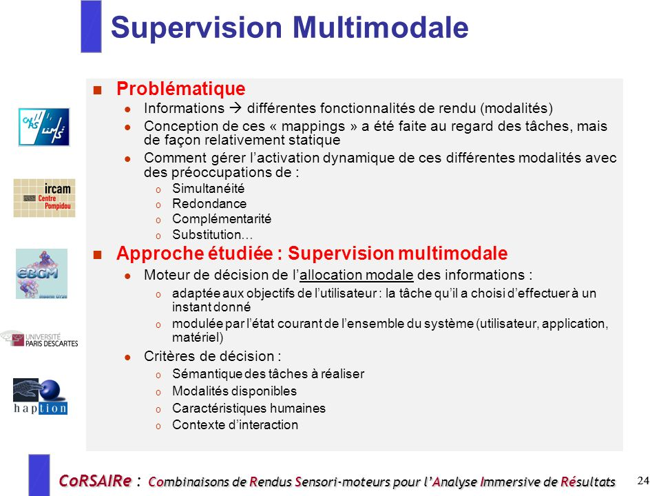 Supervision Multimodale