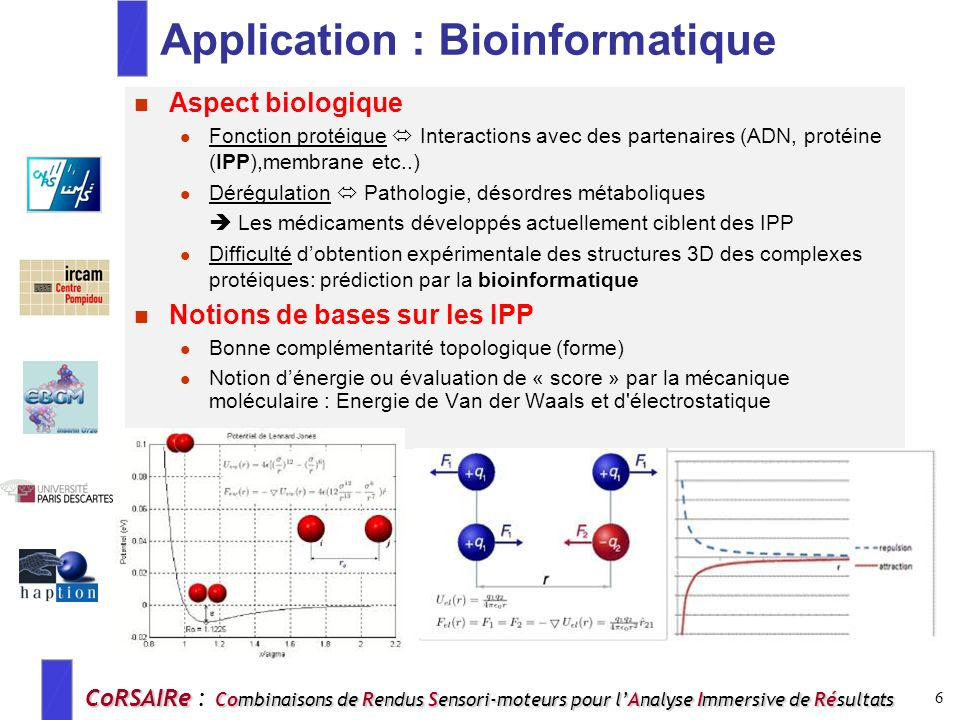 Application : Bioinformatique