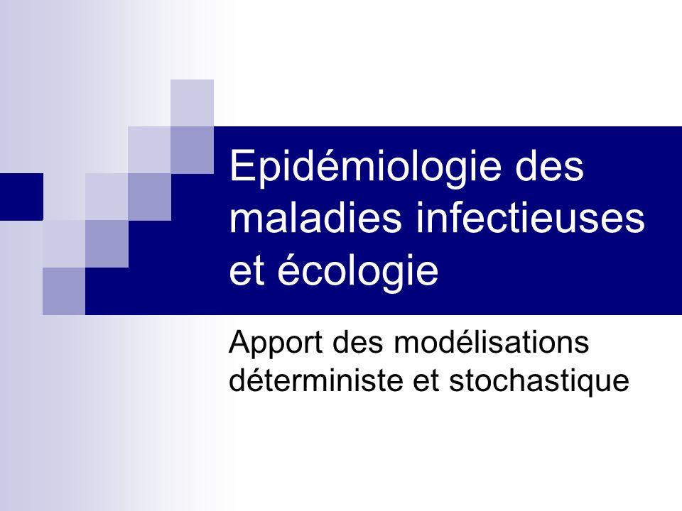 Epidémiologie des maladies infectieuses et écologie