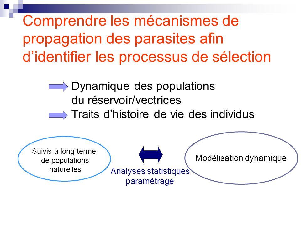Comprendre les mécanismes de propagation des parasites afin d'identifier les processus de sélection