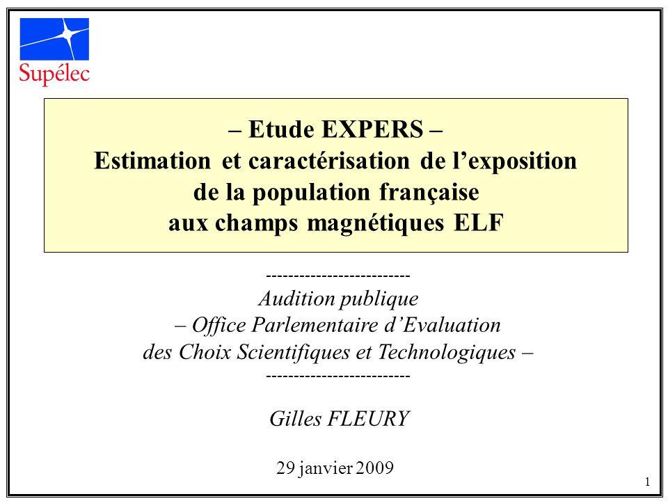 Estimation et caractérisation de l'exposition