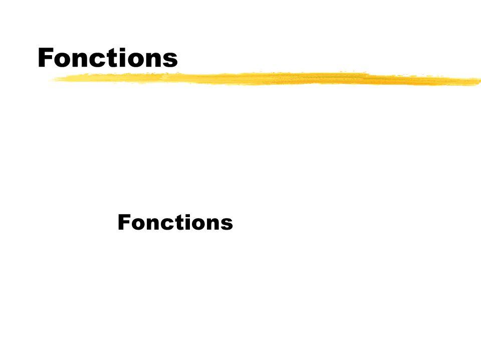 Fonctions Fonctions 88