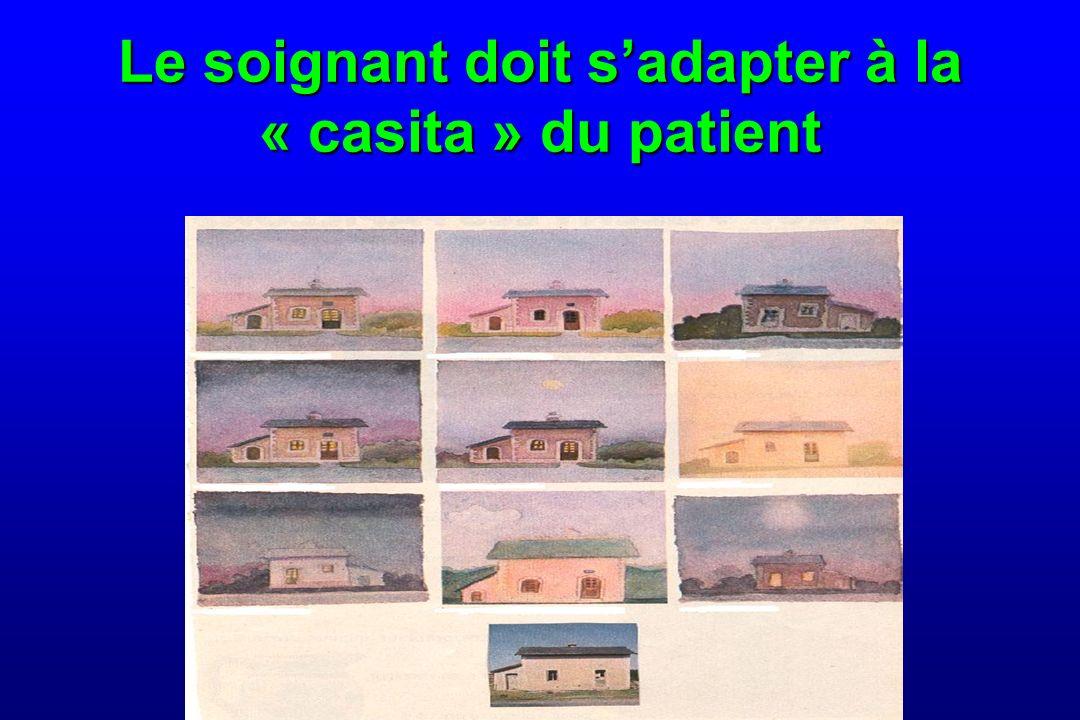 Le soignant doit s'adapter à la « casita » du patient