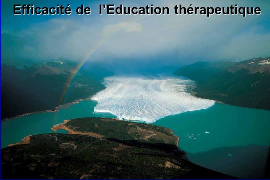 Efficacité de l'Education thérapeutique
