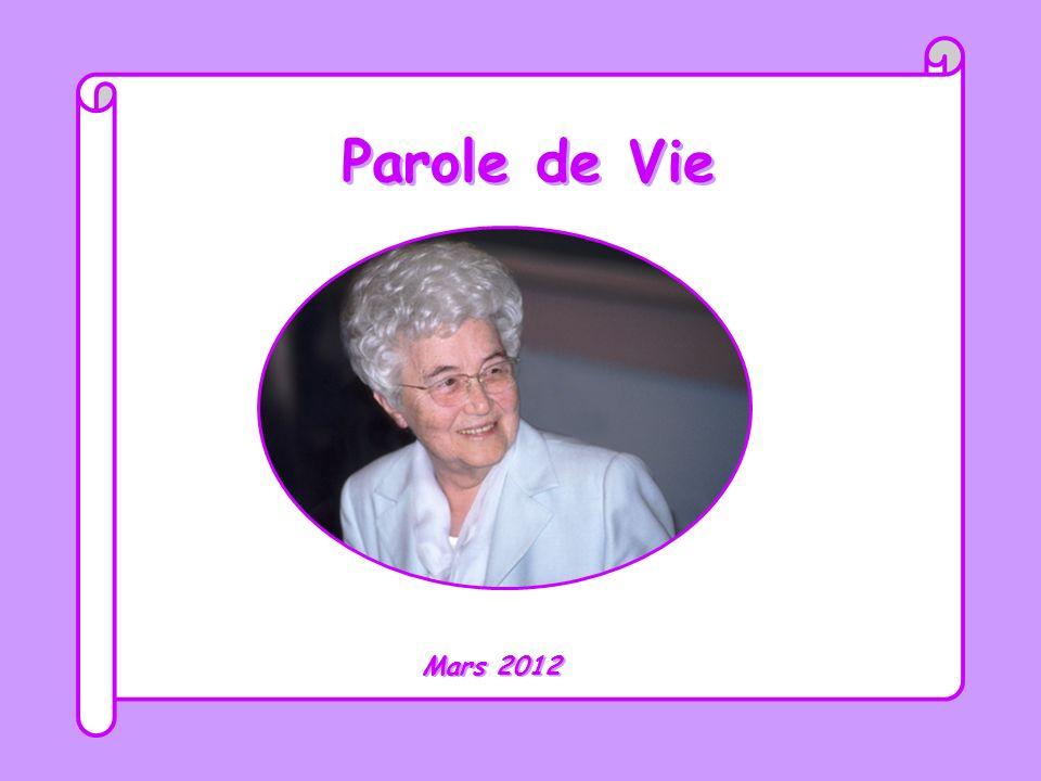 Parole de Vie Mars 2012