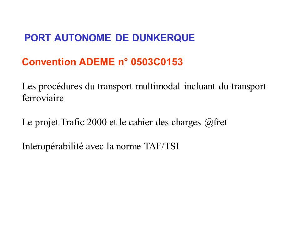 PORT AUTONOME DE DUNKERQUE