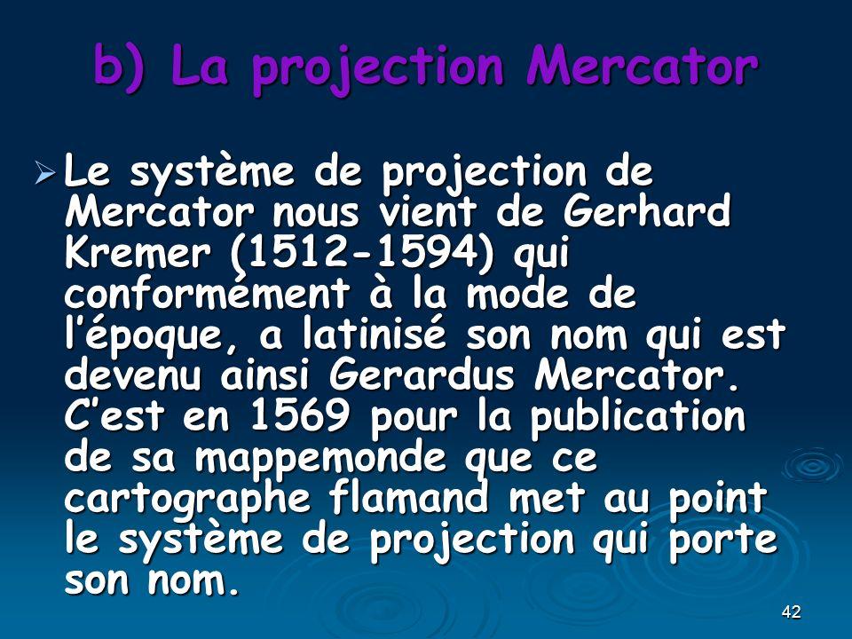 La projection Mercator