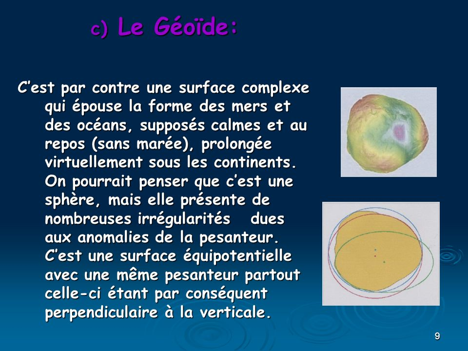 Le Géoïde: